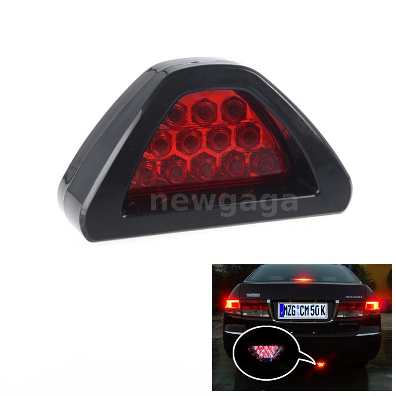 12led rouge drl feu de brouillard arri re neuf feux de freinage de voiture ebay. Black Bedroom Furniture Sets. Home Design Ideas