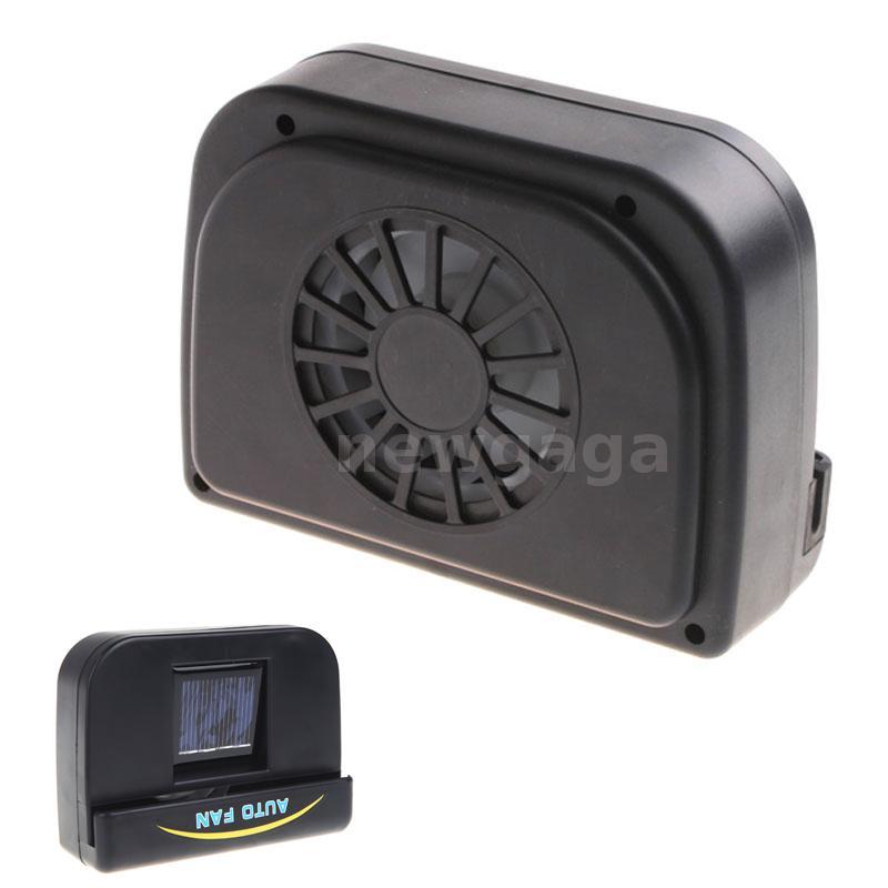 ventilation ventilateur de radiateur de voiture en caoutchouc de voiture solaire ebay. Black Bedroom Furniture Sets. Home Design Ideas