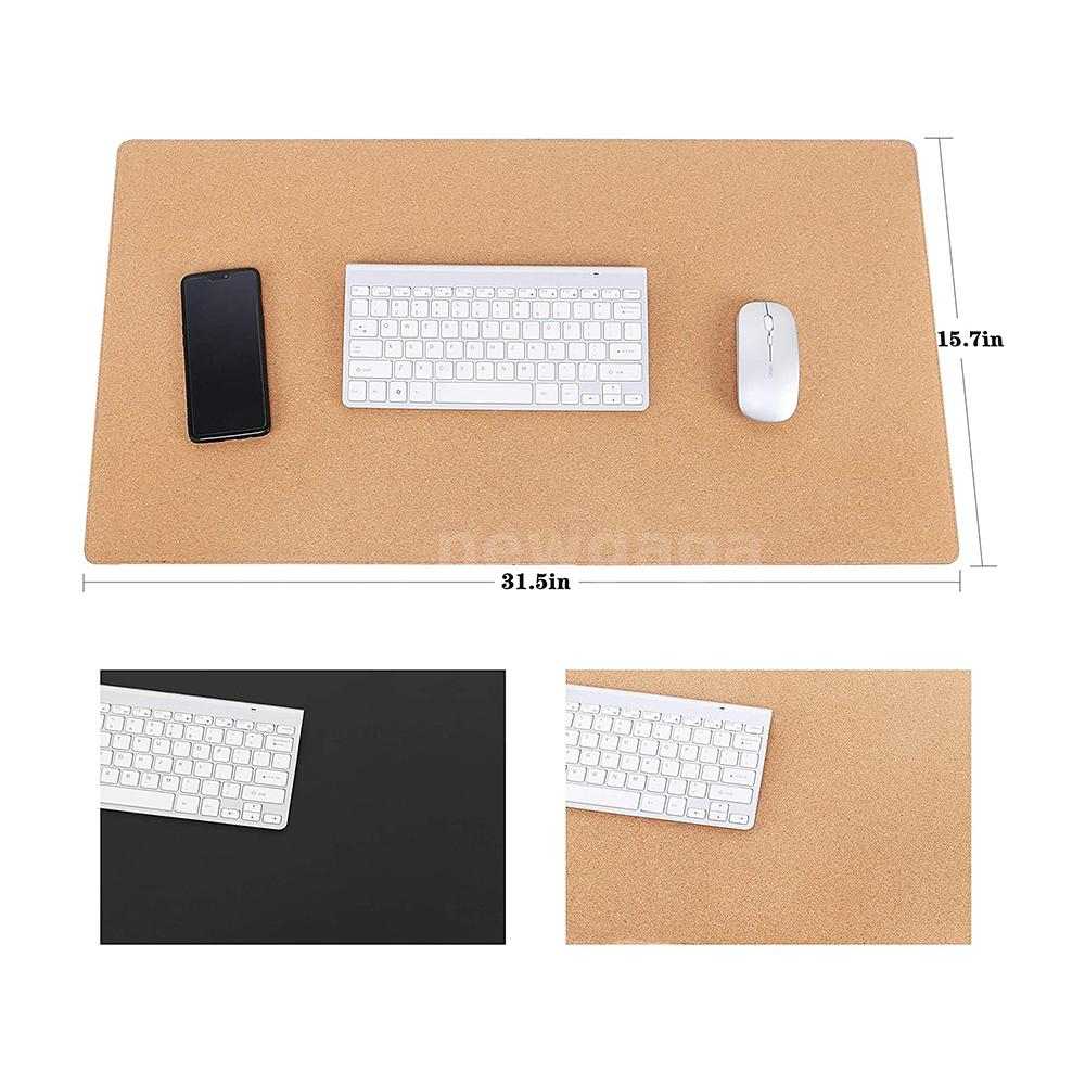 Small Mouse Pad Double-Sided Color Waterproof Desk Pad PU