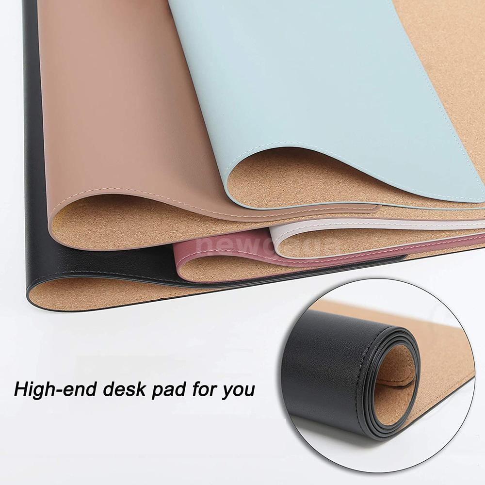 Mouse Pads - 60*30cm Cork Double-sided Use Mouse Pad