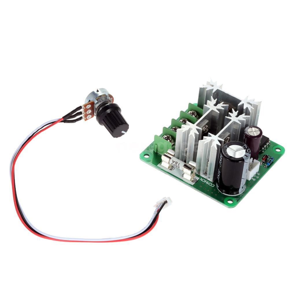 Dc Motor Speed Pwm Controller Adjuster Plc Control 6v 12v