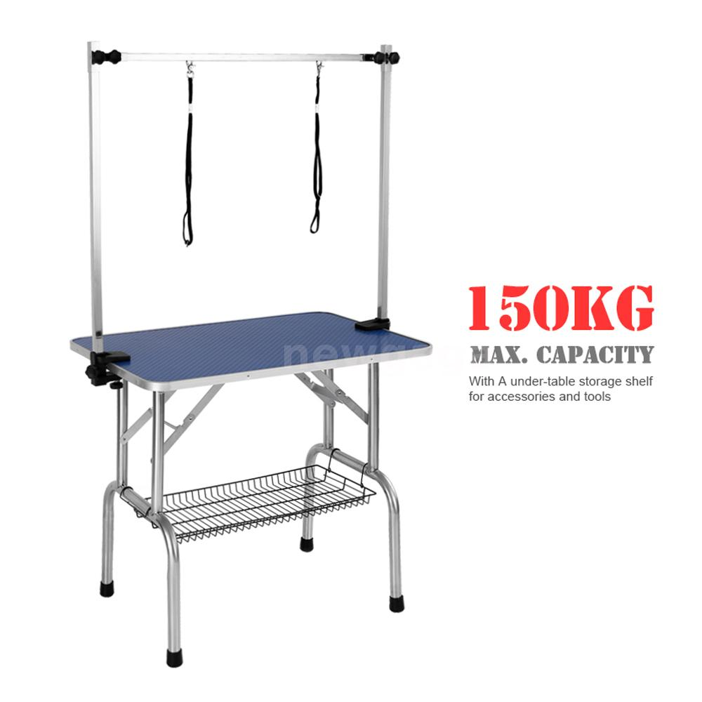 Dog Grooming Table Product : Ikayaa quot large pet grooming foldable table dog cat w