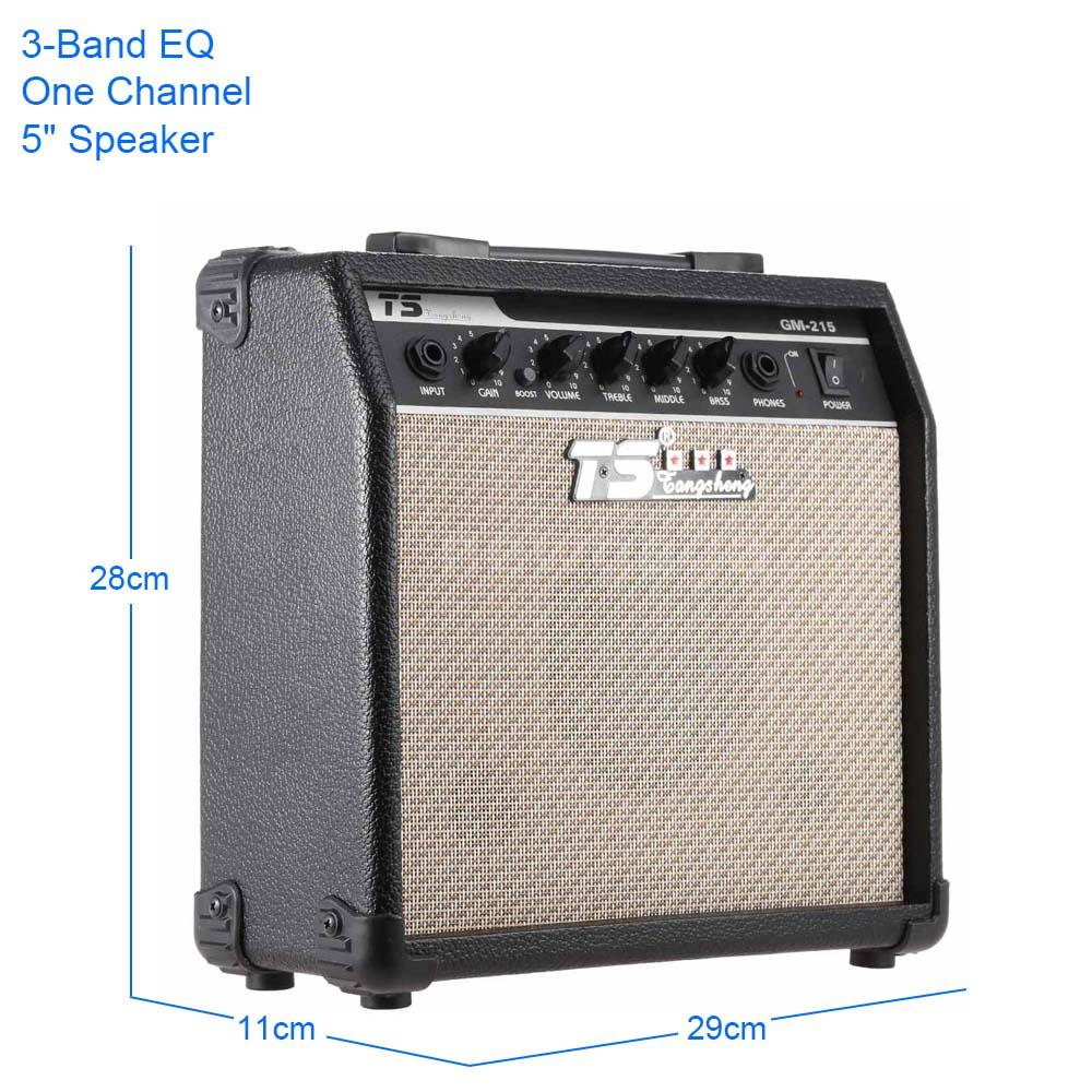 electric guitar amplifier with 5 speaker 3 band eq treble middle and bass g4e3 auctions buy. Black Bedroom Furniture Sets. Home Design Ideas