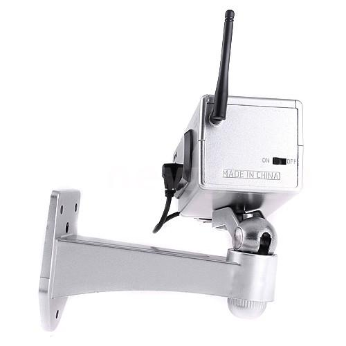 Wireless ip camera dummy home security system battery for Motorized security camera system